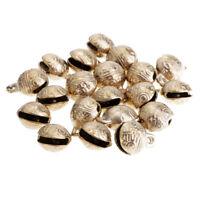 20 Pieces Tiny Bells for Crafts for Bracelet Making Pendant for Pet 2 cm