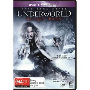 Underworld - Blood Wars (DVD, 2017) PAL Multi-Region 2, 4, 5 (Kate Beckinsale)