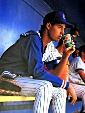 "1990 Greg Maddux Chicago Cubs Gatorade Vintage Original Print Ad 8.5 x 11"""