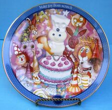 2002 Danbury Mint Pillsbury Doughboy Icing On The Cake Collector Plate Fship!
