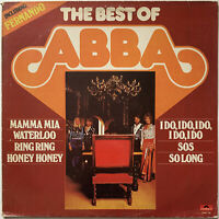 ABBA THE BEST OF LP POLYDOR DUTCH PRESSING NEAR EX CONDITION PRO CLEANED