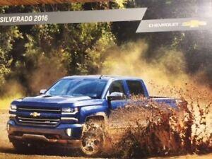 2016 Chevrolet Silverado Sales Brouchure
