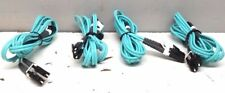 4 NEW CORNING CABLE SYSTEM ULTRA-BEND FIBER OPTIC CABLE JUMPER
