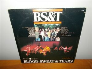 Blood, Sweat And Tears . BS&T . K-Tel . All The Hits . 2 Record LP set