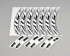 adesivi decalcomanie zipp 404 2012 Style  set per 2 ruote 12 pezzi