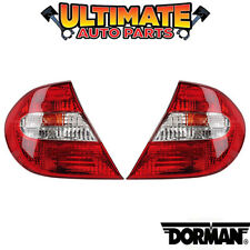 Tail Light Lamp (Left and Right Set) for 02-04 Toyota Camry