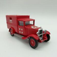 Solido Pompiers Citroën C4F 1930 1/43