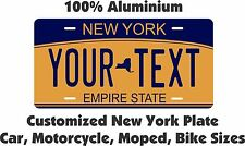 New York 2010 License Plate Personalized Custom Auto Bike Moped Motorcycle Tag