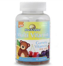 Rise-N-Shine Multi-Vitamin Gummy Vitamins for Kids with Vitamins and Minerals