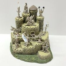 Wizard Of Oz Display Castle And 10 Pewter Figures, Comstock
