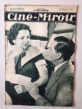 CINE MIROIR N°460 26 JANVIER 1934 MARIE BELL ET ALBERT PREJEAN