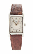 Oris Stainless Steel Genuine Leather Strap Wristwatches