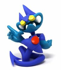 "MIST ""Devilo Erectus Bleu"" - ed lim/200 sculpture 20cm  -invader/freeny/imbue"