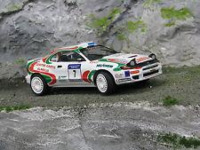 QSP Toyota Celica GT-Four 1:24 #7 Wevers / Ecker Golden Tulip Rally 1999