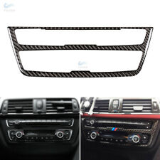 Carbon Fiber Interior Center CD Control Panel Cover For BMW F30 F34 3 4 Series
