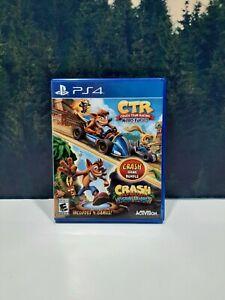 Crash Team Racing + Bandicoot N.Sane Trilogy Bundle PlayStation 4 PS4 Game