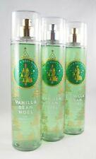 (3) Bath & Body Works Vanilla Bean Noel Fine Fragrance Mist 8oz