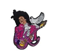 Prince enamel pin Dove retro 80s Music Rock Funk Hat Lapel Bag Purple Rain BLM