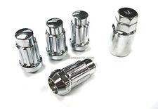 4 EXTENDED XL SPLINE WHEEL LOCK LUG NUTS 14X1.5 M14 1.5 ACORN CLOSE END 1.9 TALL