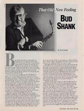 Bud Shank Downbeat Clipping