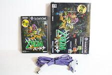 Legend of Zelda Four Swords Plus + GBA Cable Gamecube GC Japan Import US Seller