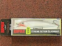 Rapala, X-Rap, Xtreme Action Slashbait, Perch, Long Casting, XR10GGH Glass Ghost
