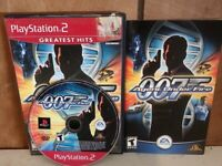James Bond 007 in Agent Under Fire Sony PlayStation 2 cib Tested
