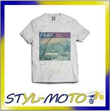 FITT04 FIAT 500 T-SHIRT BIANCA STAMPA (XL) FIAT UFFICIALE ORIGINALE