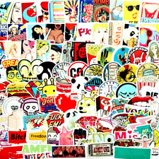 200Pcs Stickers Random Adult Fun Laptop Decals Skateboard Dope Sticker Luggage