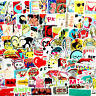 Stickers 100 Random Adult Fun Pack Laptop Decals Skateboard Dope Sticker Luggage