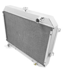 Eagle Racing 3 Row Aluminum Radiator For 1970 - 74 Dodge Challenger
