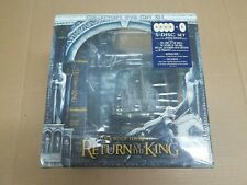 Lord of the Rings: The Return of the King (Dvd) 4-Disc Minas Tirith Statue New