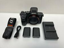 Sony - Alpha a7R III Full-Frame Mirrorless 4k Video Camera (Body Only) - Black