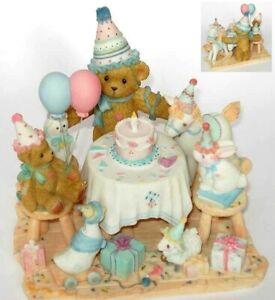 CHERISHED TEDDIES 2002 SPECIAL EDITION AGGIE, LE 10,000, BIRTHDAY, 104029-I, NIB