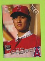 2018 Topps Now Introduction - Shohei Ohtani (OS-80)  Los Angeles Angels