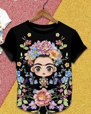 Frida Kahlo Cartoon Shirt