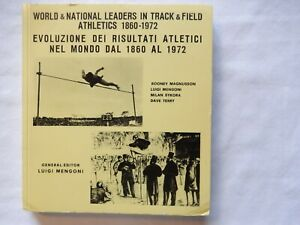 1972 World & National Leaders Mengoni Track Field Athletics Athletisme 1860-1972