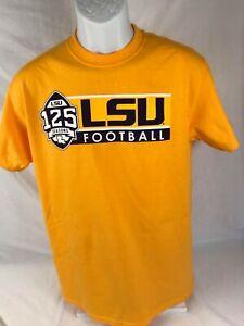 LSU Bayou Apparel 125  Seasons Gold  T-Shirt 100% Cotton  Size:  Small