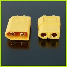10 Stück 5Paar Nylon XT60 Hochstrom Stecker Connector XT 60 Goldkontakt Lipo 051