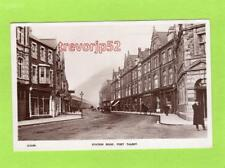 Station Road Port Talbot Nr Neath RP pc used 1927 WHS Kingsway Ref D182