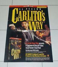 Manifesto Film CARLITO'S WAY Al Pacino Brian De Palma 47x67 cm poster locandina