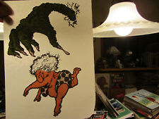 The Beast Within (Meant for boxers) vintage 70s iron on transfer full size Nos