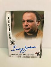 LARRY JOSHUA as WRESTLING PROMOTER  SPIDER-MAN AUTOGRAPH CARD UPPER DECK
