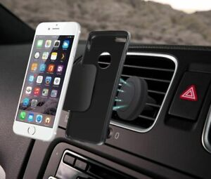 Car Magnetic Air Vent Mount Holder Stand Mobile Cell Phone iPhone Samsung UK New