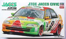 HASEGAWA 1/24 JTCC JACCS Honda Civic (4 door) limited scale model kit #20296