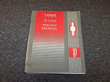 chevrolet other manuals literature for chevrolet g30 ebay rh ebay com 1995 Chevrolet G30 Specs Used 1995 Chevrolet G30 Rebates