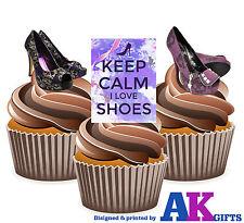 12 x goth Chaussures Talons Iron Fist KEEP CALM I Love Shoes funedible glaçages pour gâteau