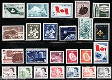 Canada 1965 1966 1967 Year Set MNH postage stamps w/ Low rate Centennials
