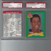 David Robinson PSA 10 GEM MT (2) Card Lot