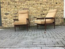 Guy Rogers 'Manhattan' reclining lounge chairs,/1960's armchairs